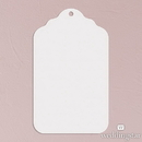 Weddingstar 1279-08 Merchandise Tag Plain - White