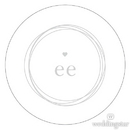 Weddingstar 1281-15-d01 Monogram Simplicity Small Sticker - Modern
