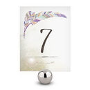 Weddingstar 1282-06 Feather Whimsy Table Numbers