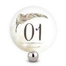Weddingstar 1282-98 Feather Whimsy Round Table Numbers