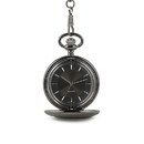Weddingstar 41027 Satin Gunmetal Pocket Watch