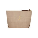 Weddingstar 41041-79 Napa Linen Makeup Bag - Putty