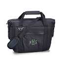 Weddingstar 41076-10 Personalized 12 Pack Black Beer Cooler Bag