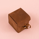Weddingstar 4408-26 Tanned Genuine Leather Ring Box