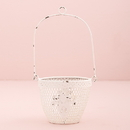 Weddingstar 4480-08 Shabby Chic Metal Flower Basket