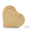Weddingstar 4564-55 Gold Glitter Heart Favor Box (10)