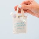 Weddingstar 4613 Tiny Tote Cotton Favor Bag