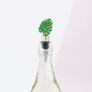Weddingstar 4637-55 Green Tropical Leaf Bottle Stopper