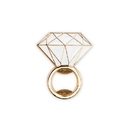 Weddingstar 4921-55 Flat Metal Diamond Ring Bottle Opener - Gold