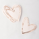 Weddingstar 4933-92 Cute Special Occasion Paper Party Napkin - Heart