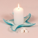 Weddingstar 7076 Starfish Glass Candle Holders / Dishes - Large