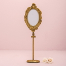 Weddingstar 7084-55 Oval Baroque Standing Frame - Gold