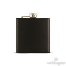 Weddingstar 7169-10 Black Hip Flask in Stainless Steel