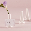 Weddingstar 8117 Small White Favor Vase or Place Card Holder (6)