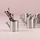 Weddingstar 8411 Miniature Silver Metal Garden Watering Can Favors (12)