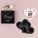 Weddingstar 8443 Heart Shaped Playing Cards Favor in Box