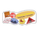 Weddingstar 8788-22 World of Happiness Sticker