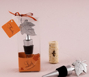 Weddingstar 8868 Silver Leaf Wine Bottle Stopper Gift Boxed
