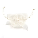 Weddingstar 9074-79 Organza Drawstring Favor Bags with Bow - Ivory (12)