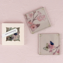 Weddingstar 9107 Hand Drawn Floral Glass Coaster Set