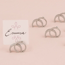 Weddingstar 9132 Double Rings Wedding Place Card Holder (8)