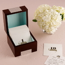 Weddingstar 9161 Wooden Memory Note Box with Anniversary Stationery