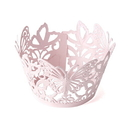 Weddingstar 9250 Beautiful Butterfly Filigree Paper Cupcake Wrappers