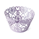 Weddingstar 9251 Lace Hearts Filigree Paper Cupcake Wrappers
