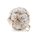 Weddingstar 9358 Floral Pomander Ball Made With Wood Curls - Small