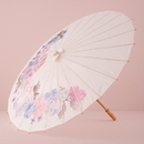 Weddingstar 9511 Paper Parasol with Vintage Floral Print