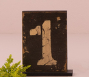 Weddingstar 9561 Rustic Self-Standing Table Number And Holders Numbers 1-6