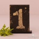 Weddingstar 9562 Rustic Self-Standing Table Number And Holders Numbers 7-12
