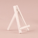 Weddingstar 9584-08 White Wooden Easels - Extra Small White