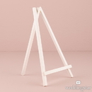 Weddingstar 9586-08 White Wooden Easels - Large White