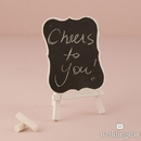 Weddingstar 9588-08 Chalkboard Signs With White Frame - Medium White