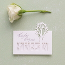 Weddingstar 9647 Woodland Pretty Laser Embossed Place Cards