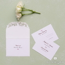 Weddingstar 9661-1272-112-c95 Floral Elegance Laser Embossed Accessory Cards with Personalization Berry