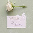 Weddingstar 9662 Floral Elegance with Butterfly Laser Embossed Place Cards