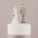 Weddingstar 9695 Woodland Bride and Groom Porcelain Figurine Wedding Cake Topper Bride