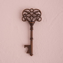 Weddingstar 9793-26 Vintage Key Bottle Opener with Bronze Finish (6) Chocolate Brown