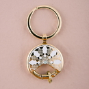 Weddingstar 9819-55 Gold Dream Catcher Keychain Wedding Favour (6) Gold