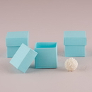 Weddingstar 9870-29 Aqua Blue Square Favor Box with Lid