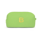 Weddingstar K42056-51 Small Cotton Waffle Makeup Bag - Lime
