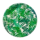 Weddingstar T335 Tropical Leaves Round Paper Plates