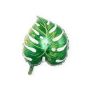 Weddingstar T442-03 Mylar Foil Helium Party Balloon Decoration - Green Tropical Leaf