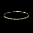 Elegance by Carbonneau B-398-Gold-Clear Bracelet 398-Gold Clear