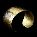 Elegance by Carbonneau B-7249-Gold Gold Cuff Bracelet 7249