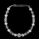 Elegance by Carbonneau B-815-White Bracelet 815 White