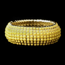 Elegance by Carbonneau B-8802-G-Yellow Gold Yellow Stretch Bracelet 8802