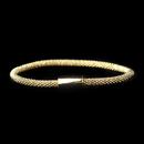 Elegance by Carbonneau B-8816-Gold Gold Magnet Bracelet 8816